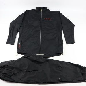 Vtg 90s Nike Mens XL Spell Out 2 Piece Track Suit